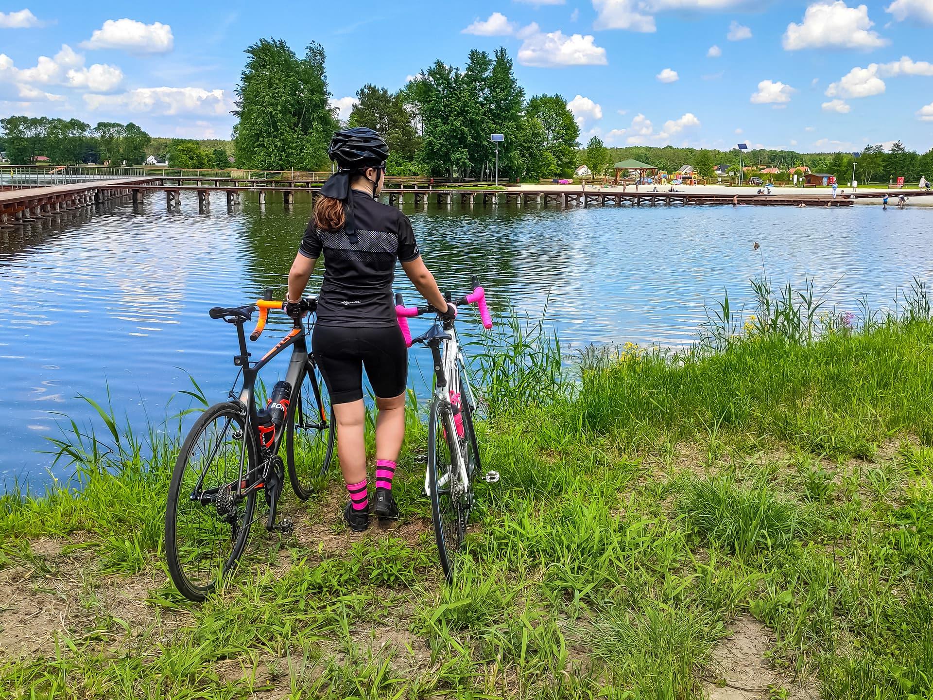 Rowerami nad Kąpielisko w Siołkowicach - blog Cyklopara